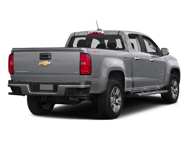 2016 Chevrolet Colorado 4wd Crew Cab 140 5