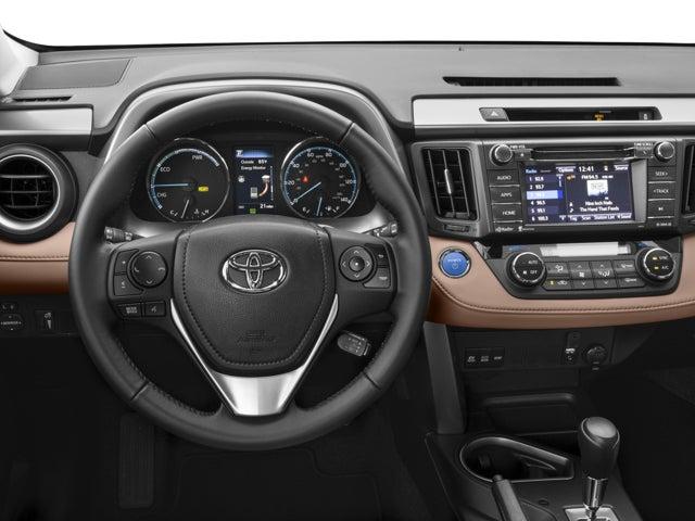2016 Toyota Rav4 Hybrid Awd 4dr Xle In Plattsburgh Ny Della Of