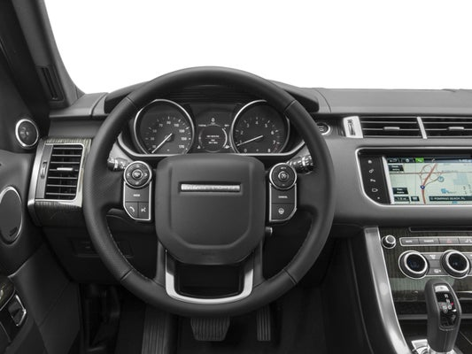 2017 Land Rover Range Sport V6 Supercharged Hse In Plattsburgh Ny Della Toyota